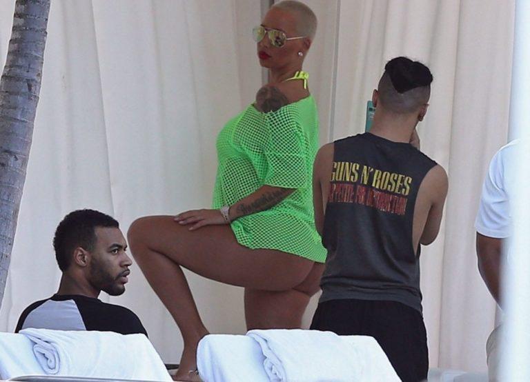 Amber Rose ass