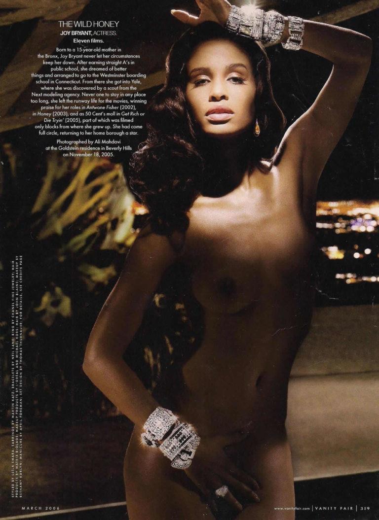 Joy Bryant sexy naked