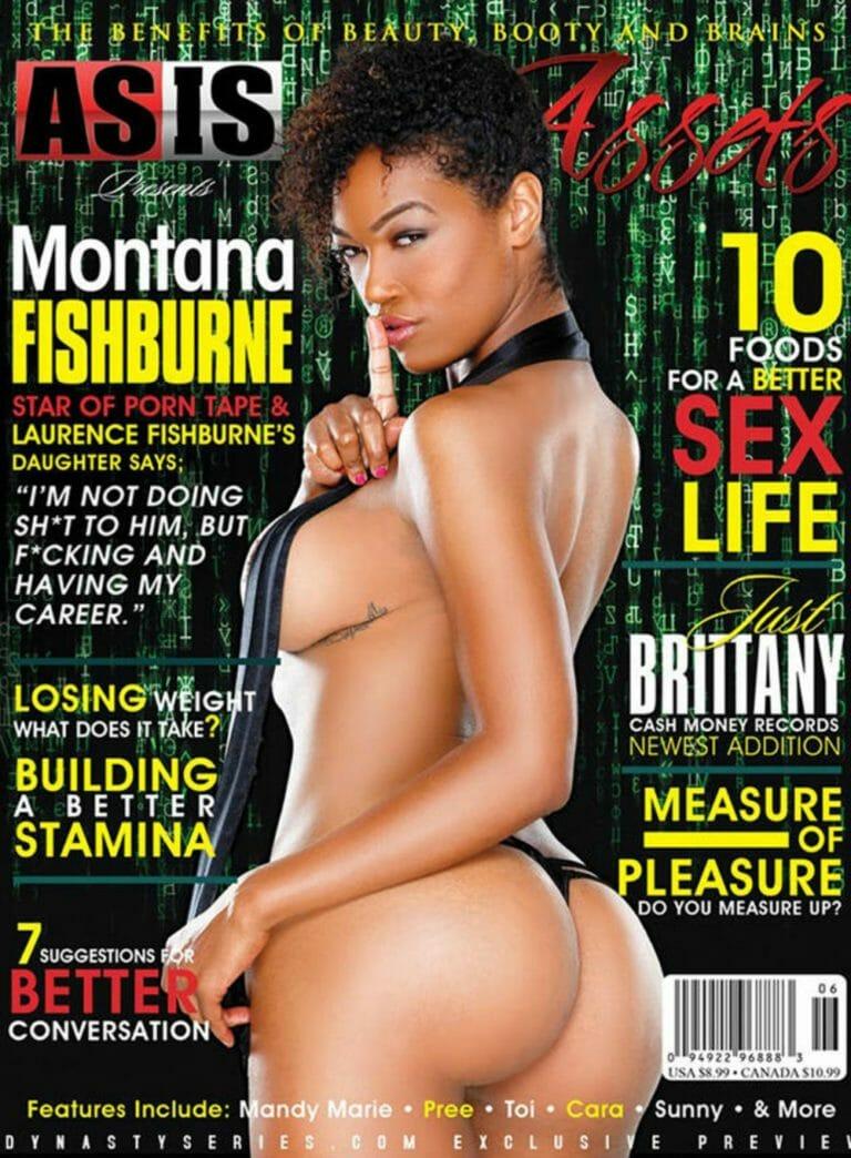 Montana Fishburne naked